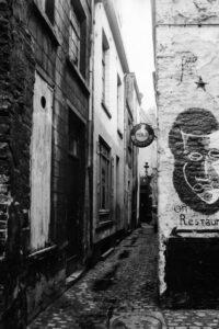 Eenpersoonsstraat, 1960