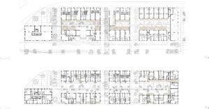 Gelijkvloers en verdieping +2