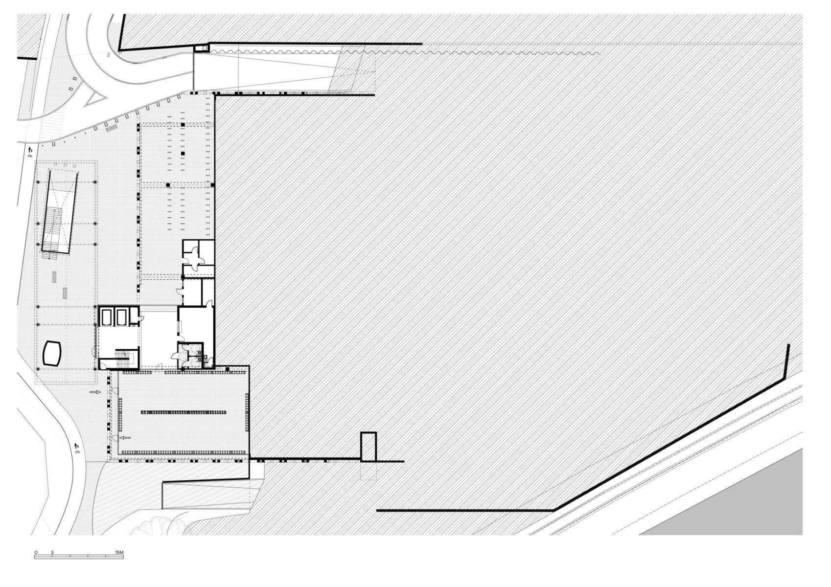 Ground floor (lower ground level)
